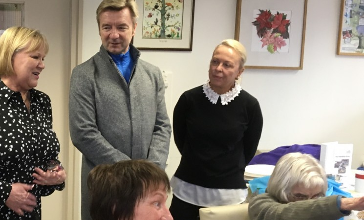 Torvill and Dean - Ambassadors of Radford Care Group